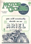 Motor Cycling Magazine 26th October 1944 !!! RARE !!! WW2 ISSUE